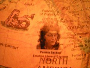 Ps explorer on globe