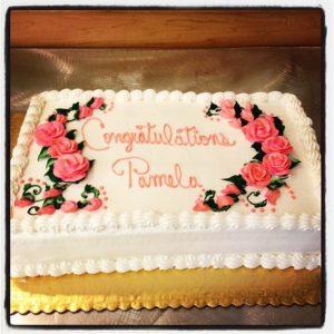 my Antioch AWARD CAKE 2013